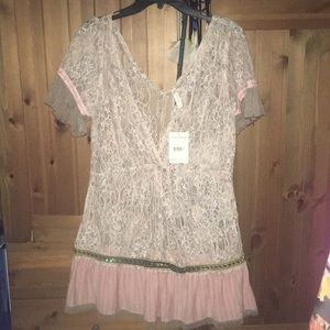 Free people lace cover up
